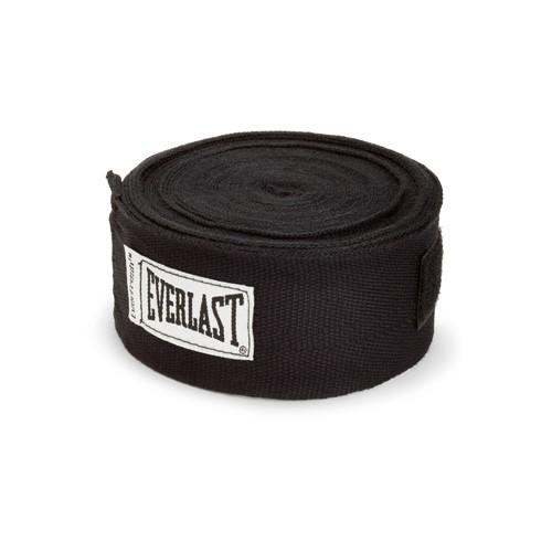 Боксерские бинты Everlast Hand Wraps Black 4.55 м